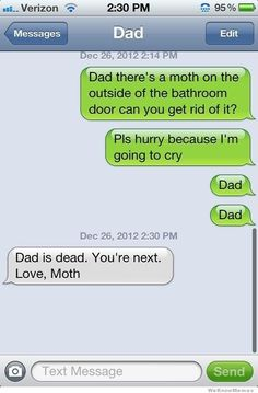 Your new dad: | 32 Texts That Will Make You Laugh Way Harder Than You Should