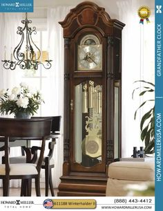 images of a grandfather clock in a room   Home / Grandfather Clocks / Traditional Grandfather Clocks / Howard ...