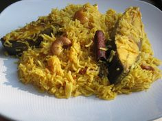 Fish Pulao: Recipe