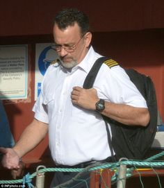 Tom Hanks climbs aboard to film Captain Phillips biopic in which he's captured by Somali pirates