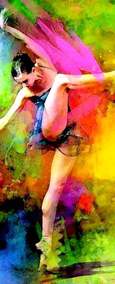 """Dance is an art, paint your dream and follow it."" ~ Steven Thompson. Via @sashasonic. #dance #art"