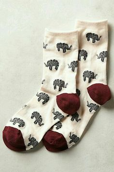 Des chaussettes en coton.