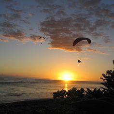 Baptême de l'air en #Parapente La Réunion 113 - Sport Découverte - www.sport-decouverte.com