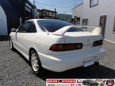 1997 JDM Honda Integra Type R. DC2, Very clean (not wish to have but kinda wish I still had) but looks like hubby's car