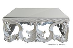 1000 images about table basse on pinterest tables for Table basse baroque blanche