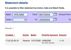 ACX is the MOST POWERFUL & SIMPLEST PROGRAM ONLINE! New 30/70 Rule GUARANTEES... Here is my Withdrawal Proof from AdClickXpress. I get paid daily and I can withdraw daily. Online income is possible with ACX, who is definitely paying - no scam here.I WORK FROM HOME less than 10 minutes and I manage to cover my LOW SALARY INCOME. https://twitter.com/SashaBelka21/status/782597517032783874