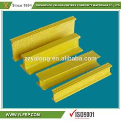 Factory Make Custom Sizes Fiberglass Pultrusion Products Fiberglass I beams