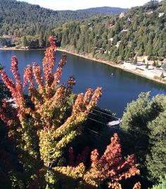 Lake Gregory in October