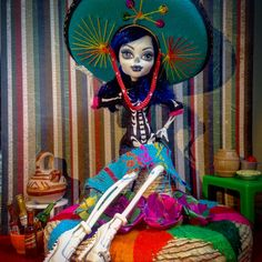 Catrina Huezo Create A Monster Skeleton Girl