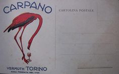 Carpano 1925 - cartolina