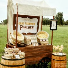 BEHIND THE SCENES | Family Picnic Popcorn Bar