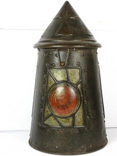 Old Huntley and Palmers Biscuit Tin 23 Lantern