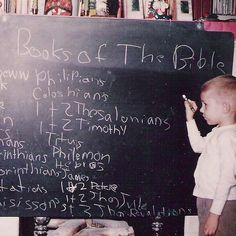 Do you think he knew at this point that he was going to grow up and teach New Testament? #blomberg #denverseminary #throwbackthursday