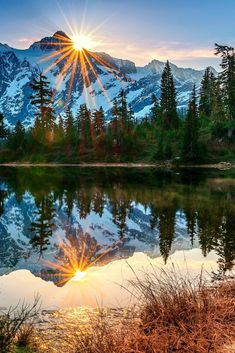 Beautiful sunset at Spirit Island. Beautiful sunset at Spirit Island. Beautiful Sunset, Beautiful World, Beautiful Places, Landscape Photos, Landscape Photography, Nature Photography, Photography Tips, Nature Pictures, Cool Pictures