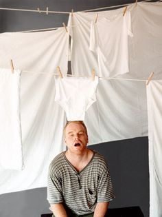 Philip Seymour Hoffman by Chris Buck