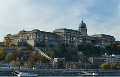 View of Buda Castle, Budapest, Hungary.