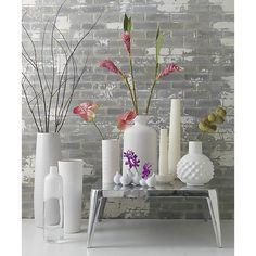 Spin Glossy Vase In Vases | CB2 Vase Centerpieces, Bud Vases, Vases Decor,