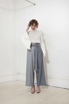 REJINA PYO, Ava Trousers, Stripe |