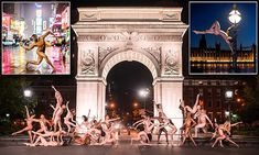 Photographer Jordan Matter's NSFW Photographs Show Ballet Dancers Striking Poses In The Nude Fashion Photography Poses, Art Photography, Sandro Giordano, Dancers Among Us, Bodies, Film Effect, National Geographic Photographers, Washington Square Park, Photo Series