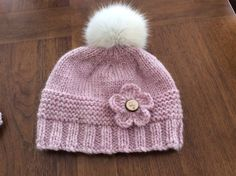 Bonnet fleur The Effective Pictures We Offer You About baby stricken pullunder A quality picture can Baby Hat Knitting Pattern, Baby Hats Knitting, Easy Knitting, Loom Knitting, Knitting Socks, Knitting Stitches, Knit Patterns, Knitted Hats, Crochet Baby