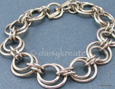 daisykreates: bracelet - link to M.A.I.L. site for info on Solar Eclipse weave with some suggested ring sizes