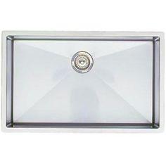 Blanco B513686 Precis Stainless Steel Undermount - Single Bowl Kitchen Sink - Stainless Steel   $1300