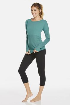 Sitka - Fabletics - Cute long sleeve top, perfect for the cold weather! #Fabletics #WishItSweeps