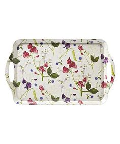 Look what I found on #zulily! Sweet Pea Large Serving Tray #zulilyfinds