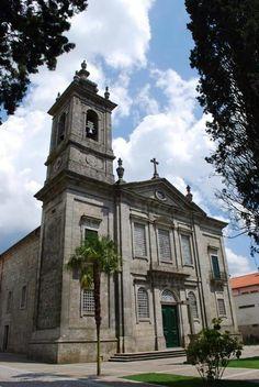 Igreja de  Castro  Daire, Portugal