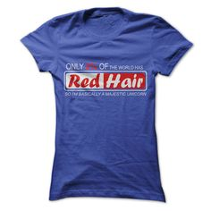 Only 2% Have Red Hair