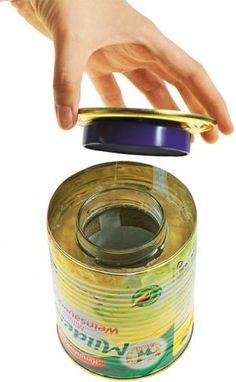 Wir werfen Dosen nicht einfach in den Müll - wir verwandeln die alten Büchsen in praktische Schmuckstücke. Seht in unseren Bastelltipps, wie ihr aus dem...