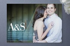 simply stripes Wedding Invitations by Emily Ranneby at minted.com