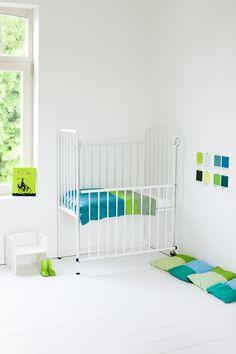 Mooie kleuren #babykamer #jongen   Cute colors of a boys #nursery