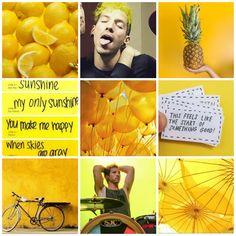 Requested! Josh Dun yellow moodboard (my edit)