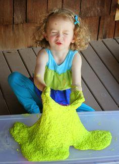 Edible Slime or Gak (Chemical and Borax Free!)