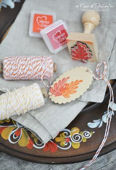Herbstliche Tischdeko I autumn table deco I Herbst I autumn I Casa di Falcone