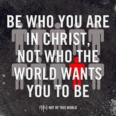 We live in a A.B.C., Anything But Christ, world, but we know it's All 'Bout Christ. (Colossians 2:8)