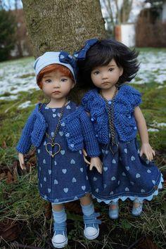 Clémentine , Little Darling moule 2 par Lana Dobbs . - OH MY DOLLS CREATIONS