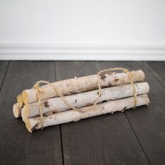 Birch Log Bundle, Large (€36) ❤ liked on Polyvore featuring home, home decor, fireplace accessories, natural, log home decor and birch home decor