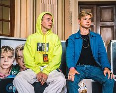 Marcus and Martinus Love Twins, Celebrity Singers, Great Friends, Talking To You, Boy Bands, Rain Jacket, Windbreaker, Handsome, Czech Republic