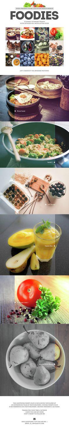 Foodies Lightroom Presets. Download here: http://graphicriver.net/item/foodies-lightroom-presets/15148982?ref=ksioks