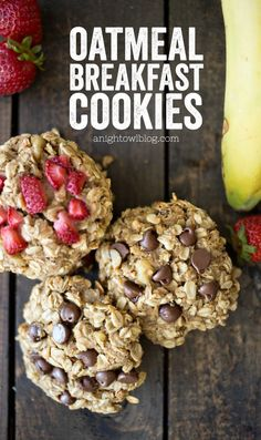These Oatmeal Breakfast Bites are easy to make and great for on-the-go! Perfect for busy mornings or even after-school snacks! These Oatmeal Breakfast Bites are easy to make and great for on-the-go! Perfect for busy mornings or even after-school snacks! Fodmap, Snacks Saludables, Breakfast Bites, Oatmeal Breakfast Cookies, School Breakfast, Meal Prep For Breakfast, Easy Breakfast Ideas, Breakfast Ideas For Diabetics, Oatmeal Biscuits