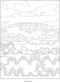 Color by Number Adult Coloring Books Unique Creative Haven American Landscapes Color by Number Coloring Book by Diego Jourdan Pereira Dover Coloring Pages, Fall Coloring Pages, Printable Coloring Pages, Adult Coloring Pages, Printable Art, Coloring Books, Printables, Color By Numbers, Paint By Number