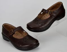 Klogs Women's Size 8 Medium Brown Mary Jane Shoes #KLOGS #MaryJanes #Casual