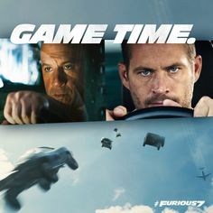 'Fast movie could become an emotional tribute to the late Paul Walker. Its cast members remain devastated by his loss up to now. Fast 8 Movie, Movie Fast And Furious, Fast & Furious 5, Fate Of The Furious, Furious Movie, I Movie, Paul Walker Movies, Rip Paul Walker, Dwayne The Rock