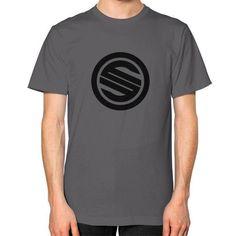 Shortyyguy Shirt Unisex T-Shirt (on man)