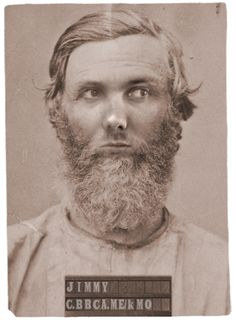 Me... in 1864. I was one of New York's most notorious crooks :-)