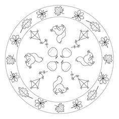 Mandala autunnali: foglie, aquiloni e scoiattoli per insegnanti, pedagogisti e…