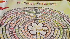 Here's a great prayer idea if you don't have access to a full-sized labyrinth. I have always found it meaningful to pray with a laby...