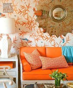 orange couch !